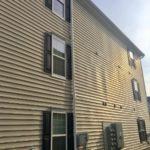 radon mitigation system on exterior
